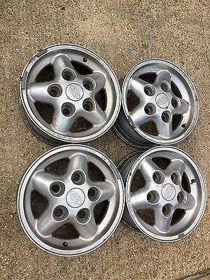 Land Rover Discovery 1 Alloy Wheels Set Of 4 Alloys