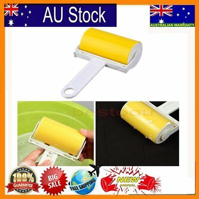 Washable Sticky Hair Removal Roller for Pet Dust Clothes Furniture Cleaning BU