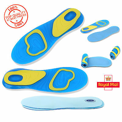 ACTIVE Gel Activ Everyday Shock Absorption Insoles Men (UK 8-13), Women (UK 4-8)