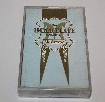 The Immaculate Collection Madonna Cassette Tape