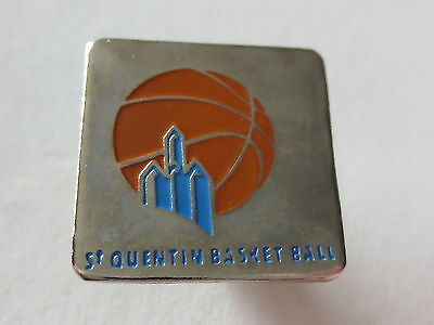 St Quentin Basketball Pin Badge