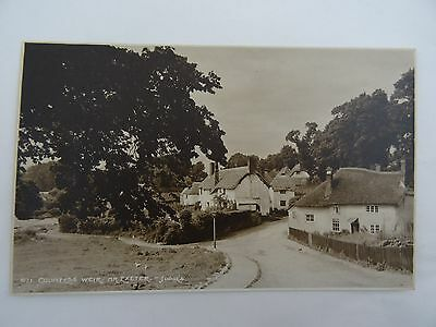 Postcard Judges Early Postcard 871 Countess Weir Nr Exeter Unposted Real Photo