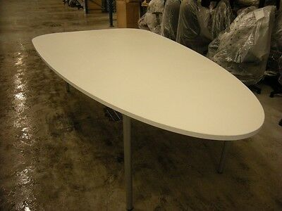 Ex-Display - Plectrum Conference/Meeting Table - White - Godfrey Syrett