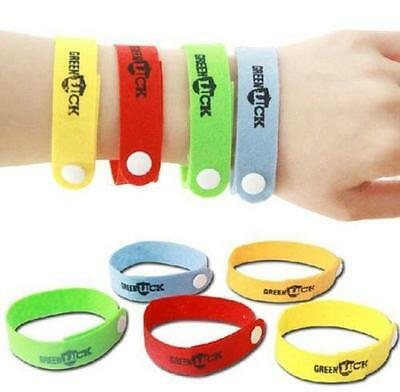 20 Anti Mosquito Repellent Bracelet Wristband Bands travel Mozzie Insect Camping