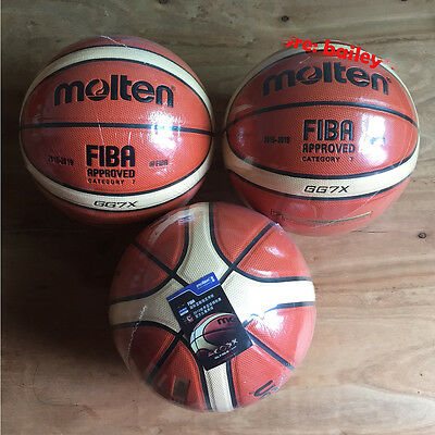 Molten GG7 GG7X GF7X GM7X Composite Leather Basketball (SIZE 7) Ball FIBA Use