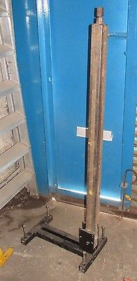 Tall 1350mm Drilling Rig stand diamond core drill No carriage 59 x 59mm post