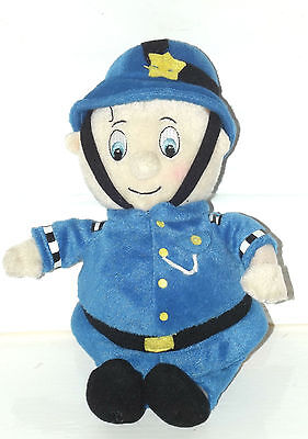 "PC Plod from Noddy Soft toy, 10"" Rare"