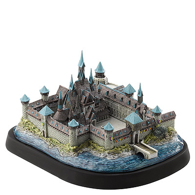 Frozen Ornament - A Moment In Time - Arendelle Castle Home of Anna and Elsa