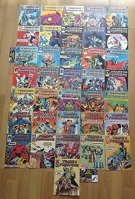 109 X Transformers Marvel UK comics with hard to find gifts job lot . #56 - 294
