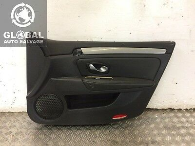 07-12 Renault Laguna Mk3 5 Door Hatch Driver Front Door Card Interior Panel