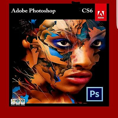 Adobe Photoshop CS6 32/64 Bit Full Version - With Key Official Download  Windows