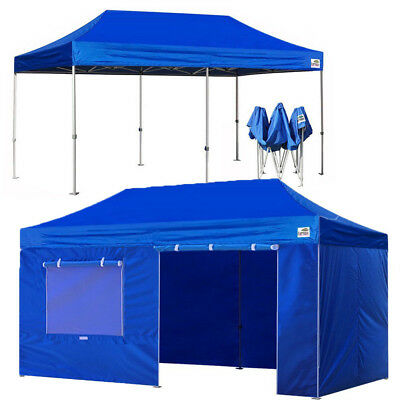 10X20 WATERPROOF Ez Pop Up Canopy Wedding Party Tent Patio  Shade Shelter Gazebo