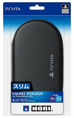 PS Vita Japan Hori Hard Pouch Case cover PlayStation Black for PCH-1000/2000