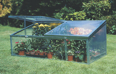Cold Frame Double Lid portable greenhouse Plant Protection