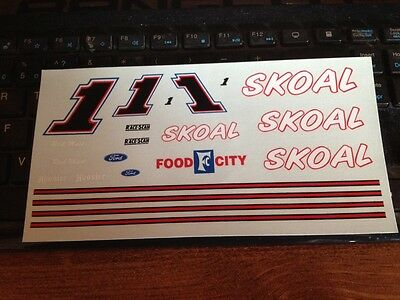 Jnj Decal #1 Skoal Ford Rick Mast Food City . Decal Only