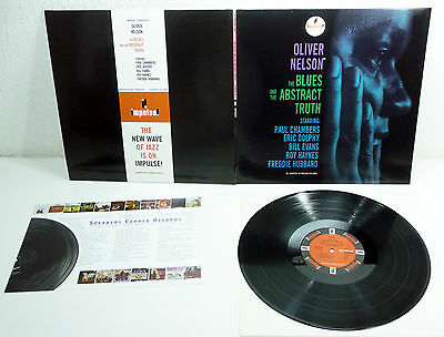 """OLIVER NELSON - NM Speakers Corner 180gr. LP """"The Blues And The Abstract Truth"""""""
