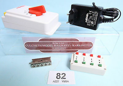 Marklin 'z' Gauge Controller & Power Supply With Switches & Mounting Plate #82W