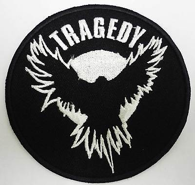TRAGEDY embroidered patch #2 Fall of Efrafa Ekkaia Wolfbrigade His Hero Is Gone