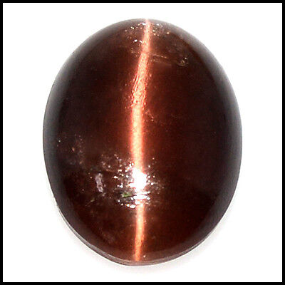 16.62Cts NATURAL SCAPOLITE CAT'S EYE SHARP LINE OVAL CABOCHON GEMSTONE 109-44