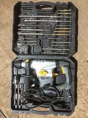Titan  TTB631SDS 5KG SDS Drill with 22 Attachments, Used, (W)