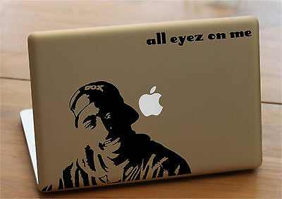 Mac macbook laptop vinyl decal sticker 2pac tupac new limited edition