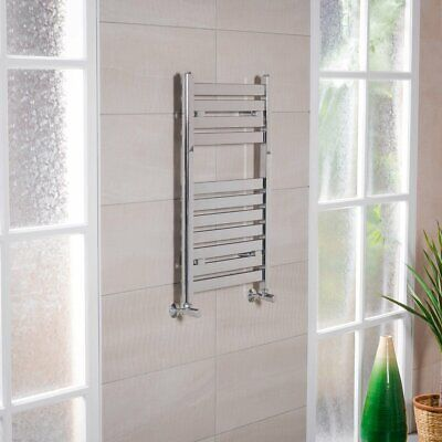The Siroco is a modular heated towel rail system.
