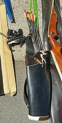 1960s bone and arrows and archery equipment