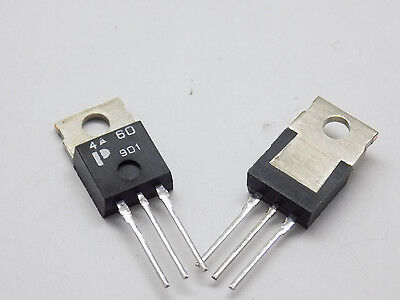2x Eumic 4A60 Triac 600V 4A  4a 600v