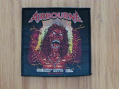 Airbourne - Breakin' Outta Hell (New) Sew On W-Patch Official Band Merchandise