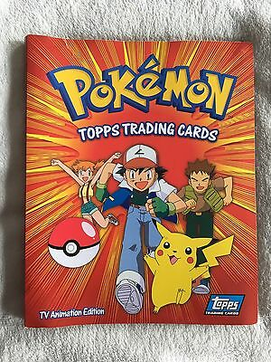 Vintage 1999 Gen 1 Pokemon Topps Trading Cards Collection + Album + Holographic