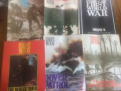 1971? history of first world war magazines X6 Some Rare