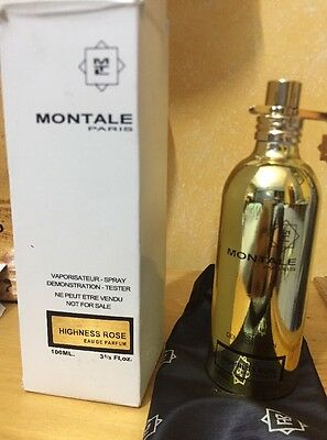 MONTALE HIGNESS ROSE EDP 100ML SPRAY VAPO profumo unisex EDP