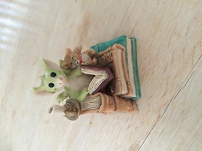 Whimsical World of pocket dragons Book Nook - Collectors club members only piece