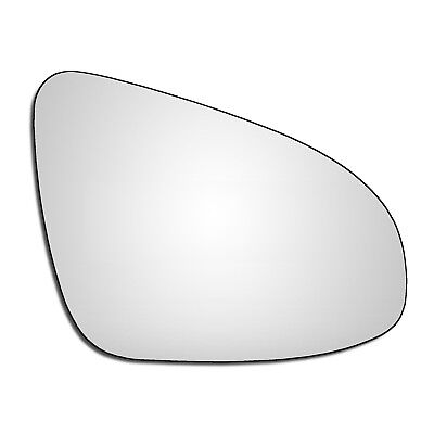 Left Passenger Side Flat Wing Door Mirror Glass for Toyota Auris 2012-17 Heated