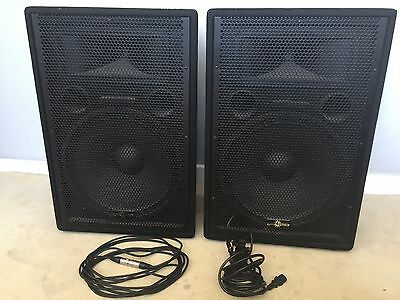 Gear4Music 800 watt (2x 400w) Active PA System + Cables