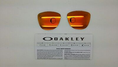 Oakley FROGSKINS lenti ricambio colore FIRE  iridium model 9013 cal 55 ORIGINAL