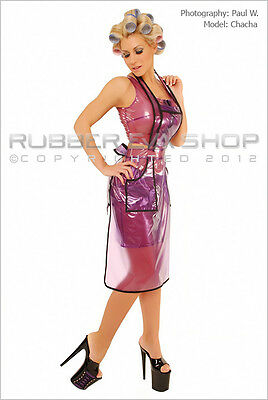 Long Plastic PVC Apron * Gwendolyn *