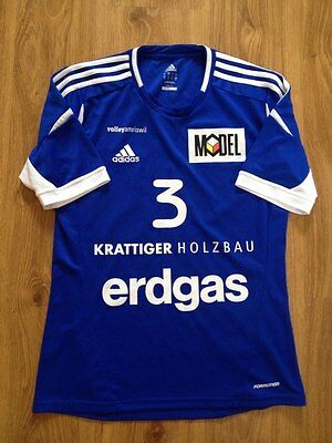 4.9/5 Amriswil #3 Match Worn Volleyball Jersey Shirt Size M