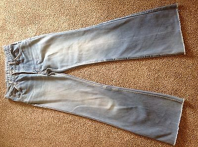 Womens Vintage Original 1970's Levi Flared Jeans