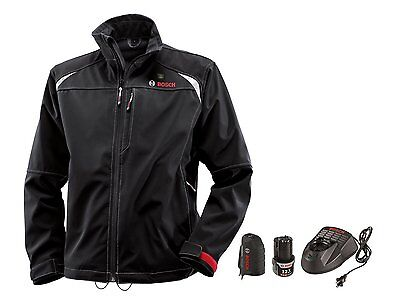 *Bosch PSJ120XXL-102 Men's 12V Max Li-Ion Soft Shell Heated Jacket Kit, size XXL