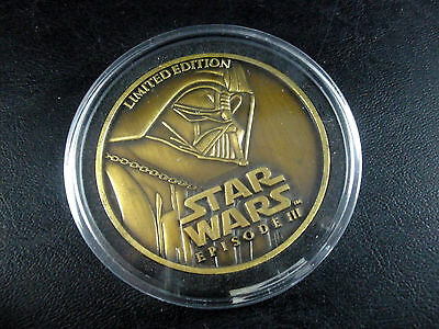 2005 Star Wars Limited Edition Coin Medallion Revenge of the Sith Episode III