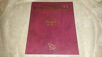 Dungeons and Dragons Thief's Handbook - Softcover - 1989 - TSR