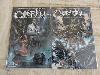 Overkill (Aliens Predator Darkness Witchblade) #1-2 Dark Horse Top Cow Comics
