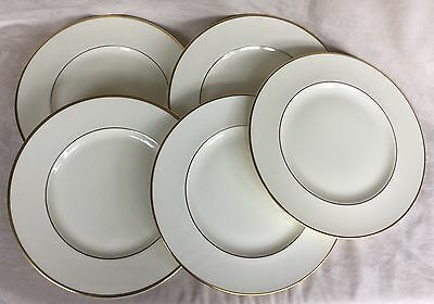 "5 X Royal Doulton The Romance Collection Heather 10.75"" Dinner Plates Excellent"