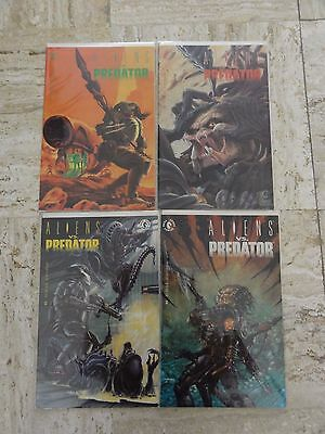 Aliens vs Predator #1-4 Dark Horse Comics AVP