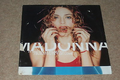 Madonna ‎– Drowned World / Substitute For Love        1999   BT / SASHA MIXES!!