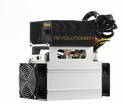 ANTMINER S7-LN with 1000W 220V/110V power supply  – 2.7TH/s+ (Used) USA