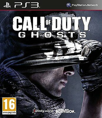 PS3 PlayStation 3 Call of Duty Ghosts Brand New Sealed Game