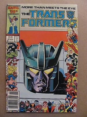 Transformers #22 Marvel Comics 1984 Series Newsstand Edition