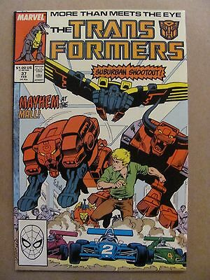 Transformers #37 Marvel Comics 1984 Series